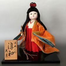 Muñeca Japonesa Ichimatsu Chica kyugetsu Kimono casi nuevo saga Ningyo Japón