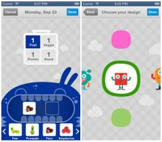 LaLa Lunchbox App Makes It Fun For Kids To Plan Meals.