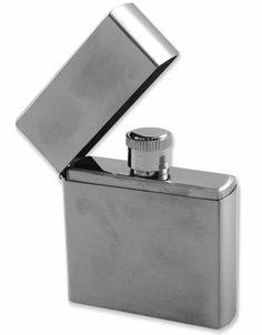 Stainless Steel Flip Top Flask