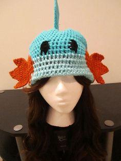 Mudkip Pokemon crochet Hat