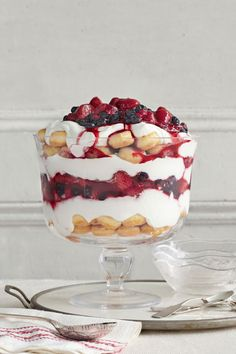 Vanilla Yogurt and Berry Triflecountryliving