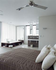 open concept bedroom and bathroom ideas | ... new Modern Design - Parents Retreat vs Ensuite; The Open Plan Bathroom