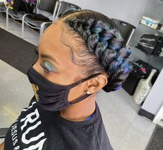 Unique Hairstyles, Twist Hairstyles, Relaxed Hairstyles, Mixed Hair Care, Jumbo Braiding Hair, Mermaid Braid, Haircut Designs, Feed In Braid, Haircut And Color