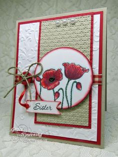 SC472 For My Sister by scrappigramma2 - Cards and Paper Crafts at Splitcoaststampers