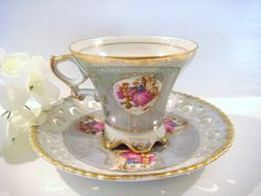 Vintage China Tea Cups | vintage tea cup and saucer, antique tea cups, china tea cup, royal ...