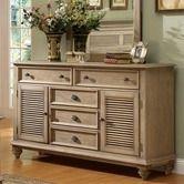 Wayfair.com - Coventry 6 Drawer Shutter Door Combo Dresser, Riverside Furniture