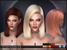 Sims 4 Hairs ~ The Sims Resource: Crow hair by Nightcrawler The Sims 4 Pc, My Sims, Sims Cc, Sims 4 Tsr, Pelo Sims, The Sims 4 Cabelos, Clare Siobhan, Sims4 Clothes, Sims 4 Gameplay