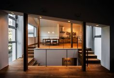 Industrial Interior Design, Home Interior Design, Interior Architecture, Interior Designing, Interior Ideas, Asian Interior, Interior And Exterior, Create Your House, Off Grid House