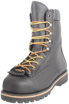 """Wolverine Men's Northman 8"""" ST Work Boot Wolverine. $94.99. PU insert with leather midsole. leather. Made in the USA with Horween leather upper and GORE-TEX waterproof membrane lining. Goodyear welt construction. Steel toe rated ASTM F2413-11 M I/75 C/75 EH. Rubber sole. Dual density PU Vibram 360' rubber lug outsole"""