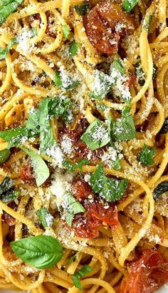 Roasted Tomato Garlic Pasta