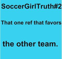 Or all the refs!!