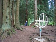 unique baskets / odd baskets - Disc Golf Course Review