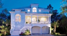 """Sater Design Collection's 6810 """"Carmel Bay"""" home plan from our cottage house plan portfolio..."""