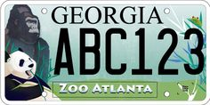 Help your favorite animal aficionado take our mission on the road with the Zoo Atlanta specialty license plate. Click the pin to learn more.