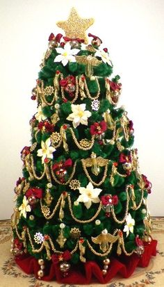 dollhouse christmas trees