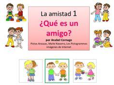 Qué es un amigo by Anabel Cornago via slideshare