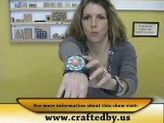 How to Make a Felted Cuff Using a Needle Felting Machine