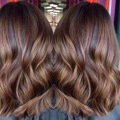 Hair Color Brown Butterscotch Super Ideas - All For Hair Color Balayage Toffee Hair Color, Butterscotch Hair Color, 2015 Hair Color Trends, Hair Trends, Ombré Hair, New Hair, Rich Brown Hair, Hair Color Highlights, Brown With Highlights