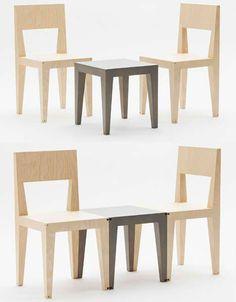 Flip, Stack and Connect: Creative Custom Furniture Set | Designs & Ideas on Dornob