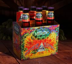 Hoptical Illusion IPA 10th Anniversary Package on Packaging of the World - Creative Package Design Gallery