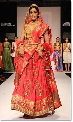 how to wear marathi saree step by step