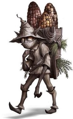 """Sumpf OP Fastachee- Native American myth: """"little giver"""" a small dwarf that gives people corn and medicine. Fantasy World, Fantasy Art, Dcc Rpg, Native American Mythology, Myths & Monsters, Legends And Myths, Fantasy Races, Mythological Creatures, Creature Concept"""