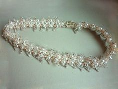 Free pattern for necklace Wedding Day