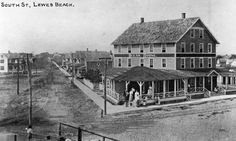 South Street.  Lewes Beach.  Delaware.  9015-003-001 #2909.  Delaware Public Archives.  www.archives.delaware.gov