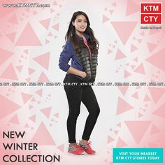 Get the New Winter Collection available at KTM CTY stores!  #girl #girls #love #me #cute #picoftheday #beautiful #photooftheday #instagood #fun #smile #pretty #follow #followme #hair #friends #lady #swag #hot #cool #kik #fashion #igers #instagramers #style #sweet #eyes #beauty