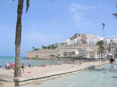 Peniscola sur la Costa del Azahar