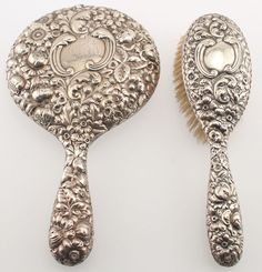 Hand Mirror Pretty Things Silver Vanity Mirror