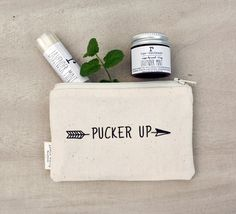 Pucker Up! Apple White Handmade and Ripeshop have come together for a limited edition holiday gift set!    Pucker Up Lip Balm and Lip Scrub Gift Set