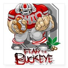 buckeye football Sticker for Ohio State Buckeyes, Ohio State Football Helmet, Oklahoma Sooners Football, Buckeyes Football, Nfl Steelers, College Football, Buckeye Crafts, Football Crafts, Ohio Stadium