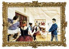 Lezioni di ballo di Edgar Degas di chocadicted della redazione Pechino Express. #imparalarte