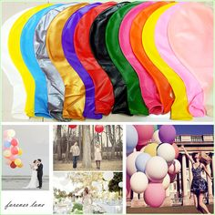Cheap balloon arch, Buy Quality balloon decoration directly from China balloon balloon Suppliers: Wedding Decoration Helium Big Latex Party Large Giant Balloons Decoration Metallic Inflatable Air Balloons Arch 36 Inch Balloons, Giant Balloons, Helium Balloons, Balloon Arch, Latex Balloons, Air Balloon, Balloon Decorations Party, Wedding Decorations, Wedding