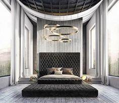 Bed GOALS ... yes or no?! #inspo #designinspo #interiordesign