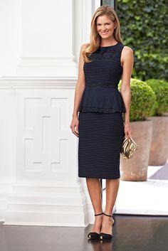 Another cute little black dress.