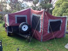 Camper Hire - Southern Cross Camper Trailer $80 per day 6/8 berth (VIC/Melb SE)  Caravan and Camping Hire Aus