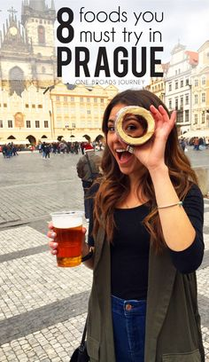 8 Foods You Must Eat In Prague - One Broads Journey 8 Foods You Must Try In Prague, Czech Republic European Vacation, European Travel, Europe Travel Tips, Places To Travel, Budget Travel, Travel Guides, Travel Planner, Travel Abroad, Bon Plan Voyage