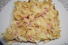 Böhmische Schinkenfleckerl 1 Pasta Recipes, Diet Recipes, Cooking Recipes, Yummy Recipes, Vegan Vegetarian, Vegetarian Recipes, Food Photo, Finger Foods, How To Lose Weight Fast