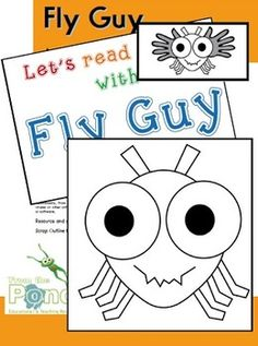 Use the pieces in this file to help your students create their own Fly Guy!Students paint 2 handprints to help make the fly's wings.You may...