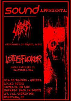 [Flyer] October 8,2015 SETE STAR SEPT live in Sorocaba, Brazil https://www.facebook.com/events/977018445671836/