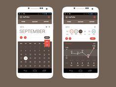 Andoid App Concept   Calendar View