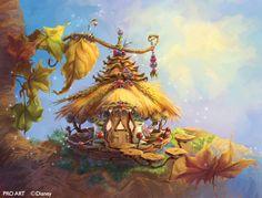 disney fairies houses - Google zoeken