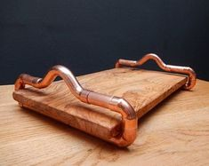 copper and olive wood