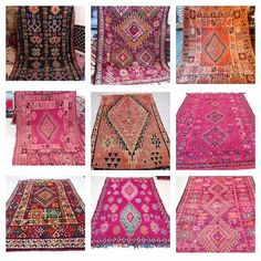 I have managed to find & personally select 9 glorious and rare, vintage Boujaad rugs from the Atlas Mountains in Morocco! 🙌🏼 These hand crafted, gorgeous GORGEOUS boujaad rugs are being cleaned & prepped for shipment for me in Marrakech RIGHT NOW!! 😍