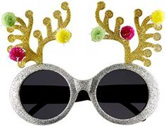 VIPASNAM-Holiday Reindeer Sunglasses Glasses New! *** Be sure to check out this awesome product. (This is an affiliate link) #facepaint