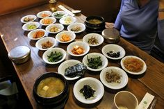 That Little Shop of Banchan at Sigol Bapsang in Seoul, South Korea
