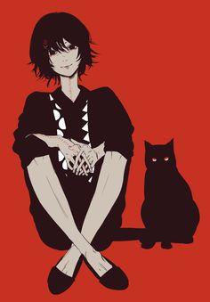 Suzuya never hurt the kitty