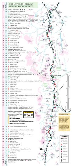 Cycled from Banff to Jasper, Alberta